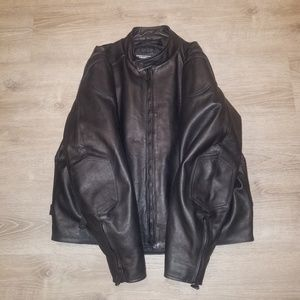 a43502b2bd3 NWOT River Road Race Vented Leather Jacket